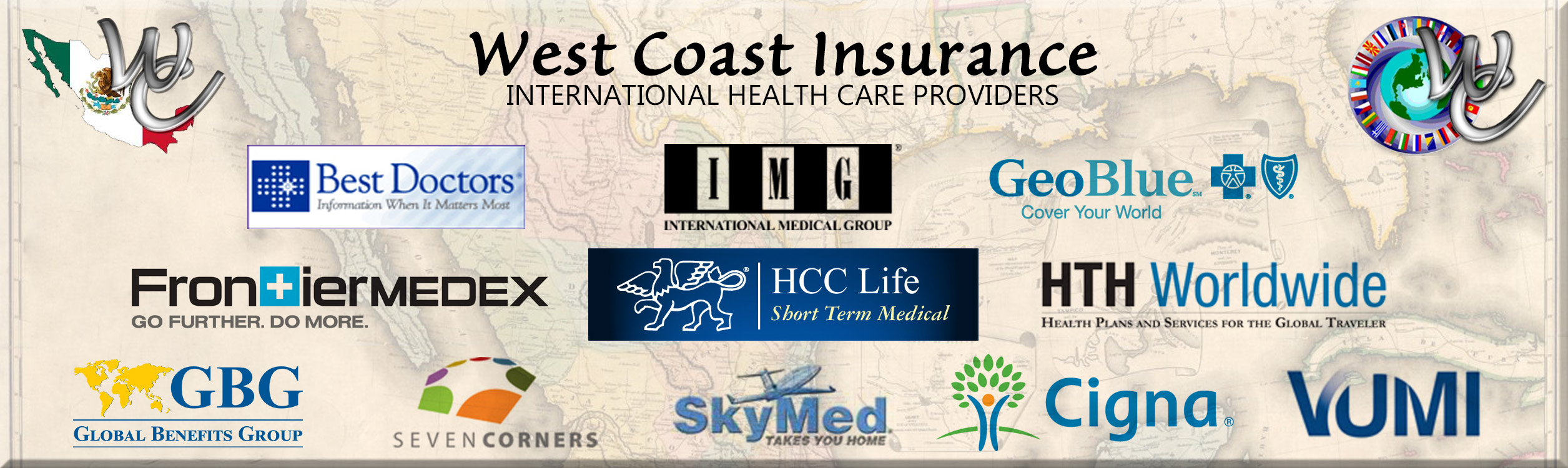 Global Health Insurance Providers