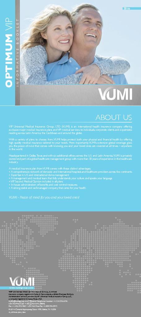 Optimum Vip – Brochure