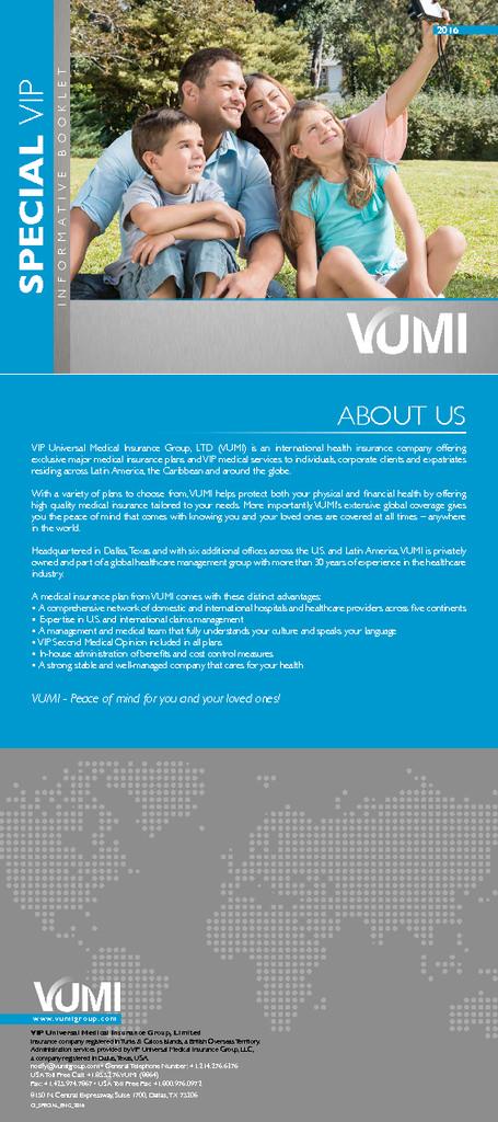 Special Vip – Brochure