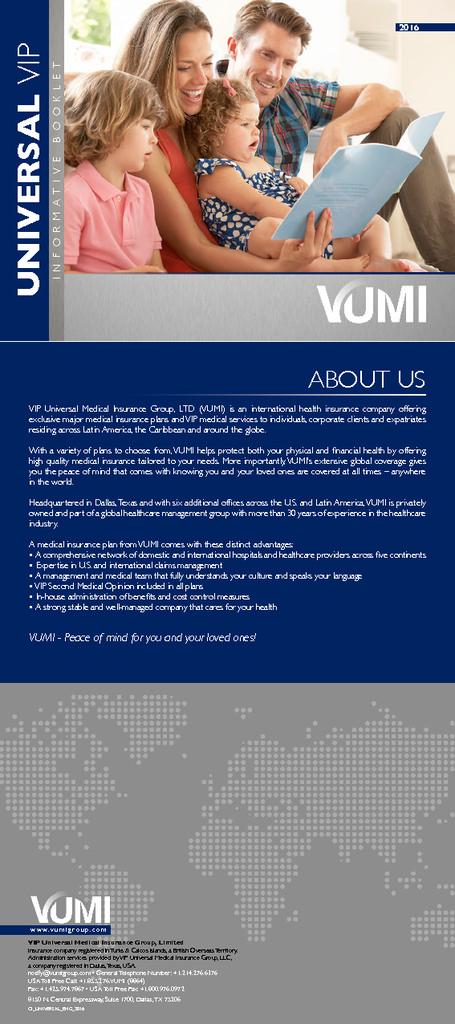 Universal Vip – Brochure