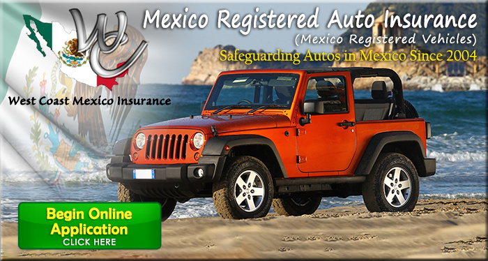Mexico Registered Auto Insurance Application