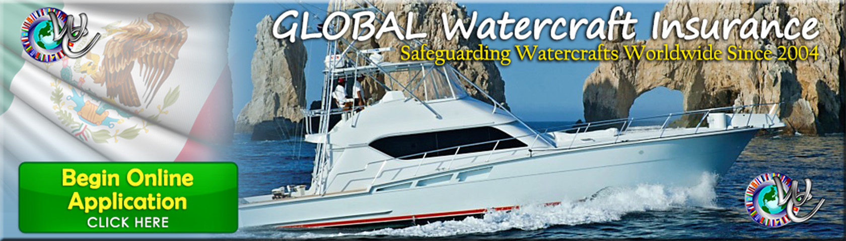 Mexico & Global Watercraft Insurance - Online Application