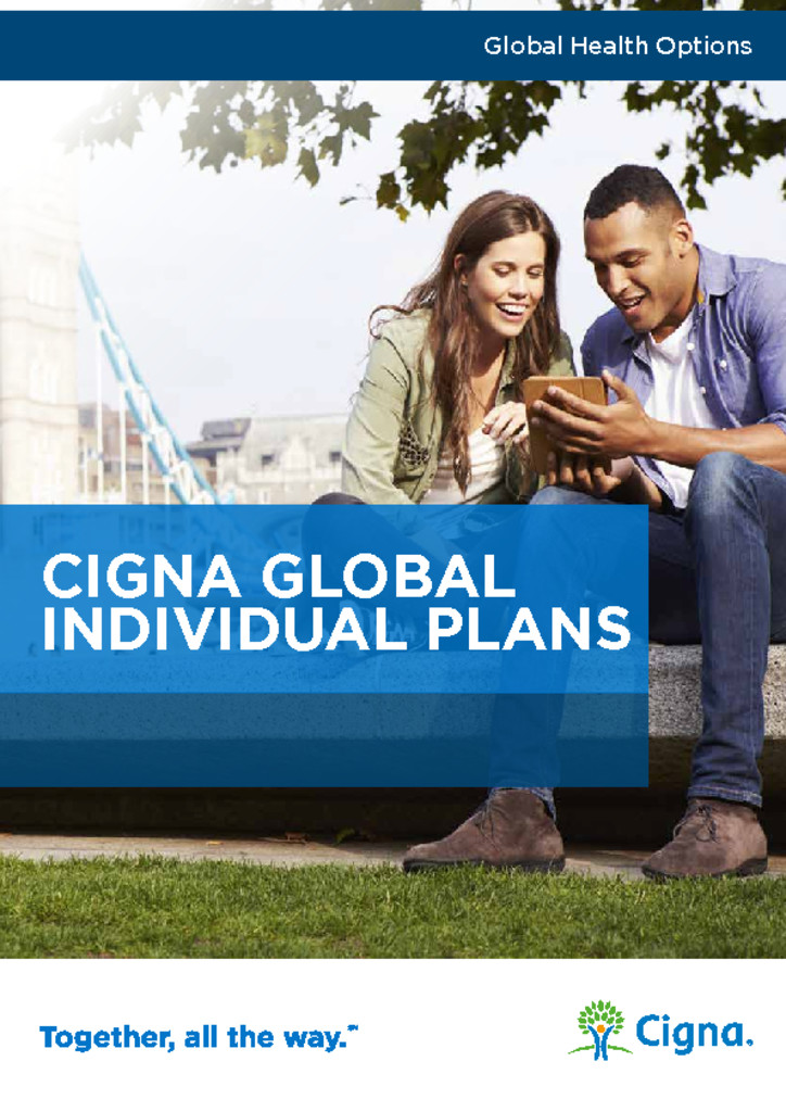 thumbnail of Cigna Global Benefit Summary 2016
