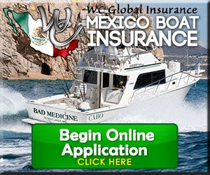 Mexico Boat Insurance Online Application